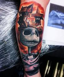 cool nightmare before tattoos designs