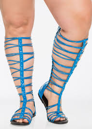 buy gladiator sandals for plus size women ashley stewart