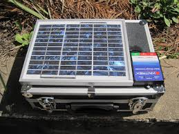 solar laptop device charger make