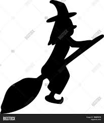 witch silhouette clipart witch silhouette stock vector u0026 stock photos bigstock