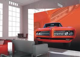 wall mural wallpaper pontiac gto in red us car red floral photo wall mural wallpaper pontiac gto in red us car red floral photo 360 cm x 270 cm 3 94 yd x 2 95 yd