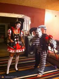 Jester Halloween Costumes Women Charmed Queen Hearts U0026 Evil Jester Halloween Costume