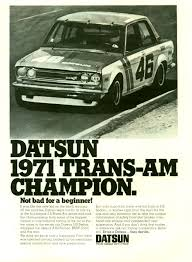 classic datsun 510 matt u0027s classic car and motorcycle advertising archive