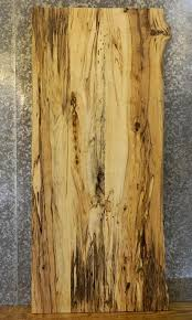 Rustic Partial Live Edge Hackberry Custom Glue Up Bathroom Vanity - Bathroom vanity top glue