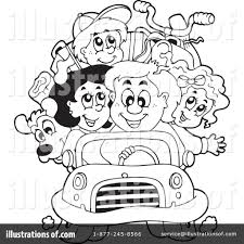 family vacation clipart 1059829 illustration by visekart
