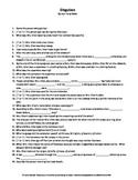 the necklace by guy de maupassant complete guided reading worksheet