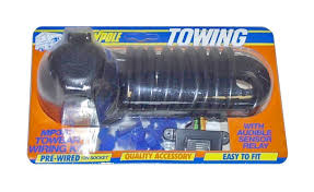 universal 7 way bypass relay towing electrics towbar wiring kit