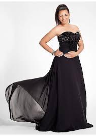 beading bodice long black chiffon plus size prom dresses dress
