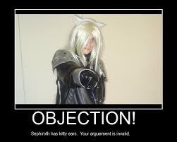 Sephiroth Meme - sephiroth invalid arguement by bisaleth on deviantart
