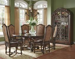 round dining table with leaves by a r t furniture inc wolf and