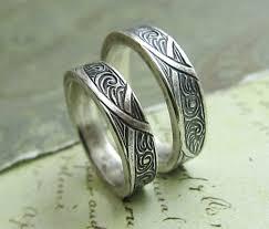 titanium wedding band sets wedding ring sets matching celtic titanium wedding band set in
