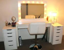 black makeup desk with drawers makeup desk with lights modern dressing table with mirror make a
