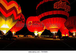 glow in the balloons hot air balloons glow balloons stock photos hot air