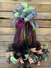 halloween wreath halloween witch hat door decoration witch hat