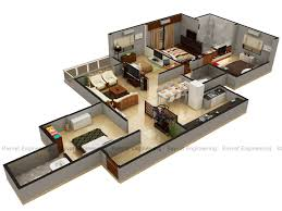 3d floor plans architectural floor plans www rayvat com wp content uploads 2017 06 4bhk iso