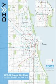 Blue Line Chicago Map by Here U0027s A Map Of Where To Get A Divvy Bike In Chicago Chicago