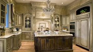 contemporary luxury kitchen island granite countertop chandelier