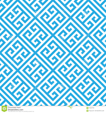 Blue Pattern Background Greek Key Seamless Pattern Background In Blue And White Vintage