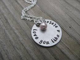 Hand Stamped Necklace Hand Stamped Necklaces U2013 Jenn U0027s Handmade Jewelry