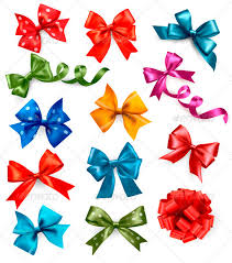 gift bows big set of colorful gift bows with ribbons by almoond graphicriver