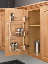 spectacular kitchen cabinet door racks with rev a shelf door mount