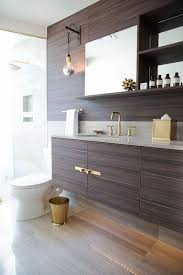 Floating Vanity Plans Brown Laminate Floating Vanity Contemporary Bathroom
