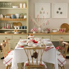 Red And White Christmas Decorations Uk by Budget Christmas Decorating Ideas Ideal Home
