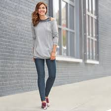 misses clothing it s shoulder season this layered look in misses meets the