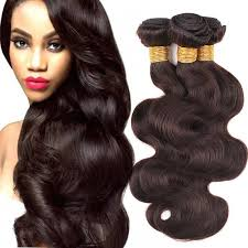 wave sew in remy human hair wave color 2 brown sew in hair weaves 3