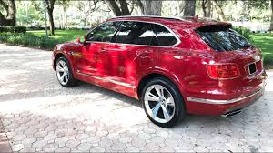 bentley 2020 all new suv 2020 2019 2018 bentley bentayga red carbon leds youtube