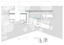 architects floor plans gallery of glass house mountains house bark design architects 25