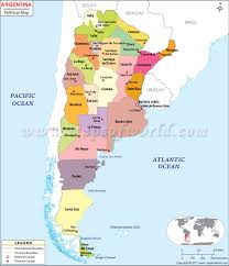 physical map of argentina political map of argentina argentina provinces map