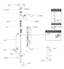 kitchen sink faucet parts diagram best 25 kitchen faucet repair ideas on faucet repair