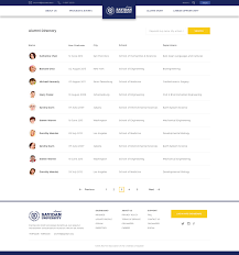 alumni directory software sayidan alumni psd template by peterdraw themeforest
