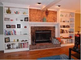 custom bookshelves custom bookshelves flanking a fireplace by