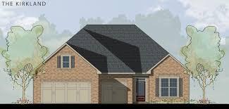 Fox Ridge Homes Floor Plans by The Kirkland Floor Plan Al New Home Construction Davidson Homes