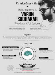 ui design cv graphic design resumes outstanding resume designs you wish you