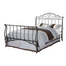 Iron Sleigh Bed Queen Sleigh Bed Ebay