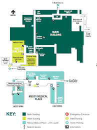 mercy central campus a level map map of mercy main building
