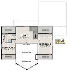 Floor Layout by Golden Eagle Log Homes Floor Plan Details Lodge 2838al