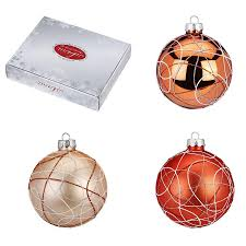 hanging decorations bronze brown copper my christmas