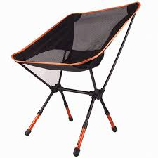 Ultralight Backpacking Chair High Quality Aluminium Alloy Mesh Portable Chair For Fishing