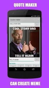 Meme Quote Generator - insta quote maker apk download free personalization app for