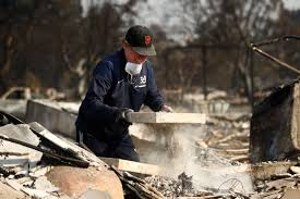 California Wildfire Names by Northern California Wine Country Wildfires Victims Return Home As