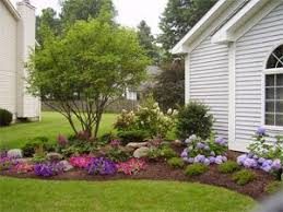 Gardening Ideas For Front Yard Landscaping Ideas For Front Yard Of Split Level Home Landscaping