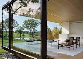 desai chia creates a glass box home in rural new york state box