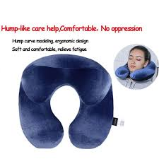 travel pillows images U shape travel pillow for airplane inflatable neck pillow travel jpg