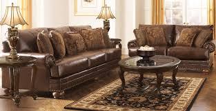 ashley furniture barcelona sofa livingroom engaging antique living room set table ls wood style