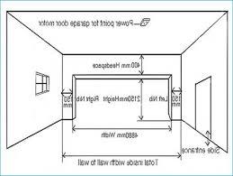 2 car garage door dimensions how big is a standard 2 car garage totalphysiqueonline com