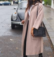 how to style a pink winter coat symphony of silk